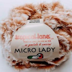 Tropical lane micro lady pelliccia