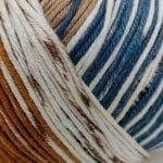 marrone/beige/blu